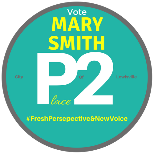 Mary Smith for Lewisville City Council Place 2